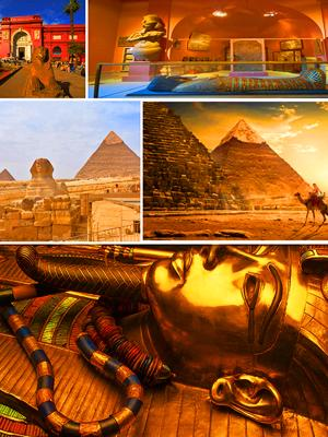 Pyramids tour from Sharm by plane plus the Egyptian museum and Lunch